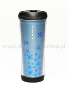 TUMBLER 16OZ BLUE METALLIC STARS SCI